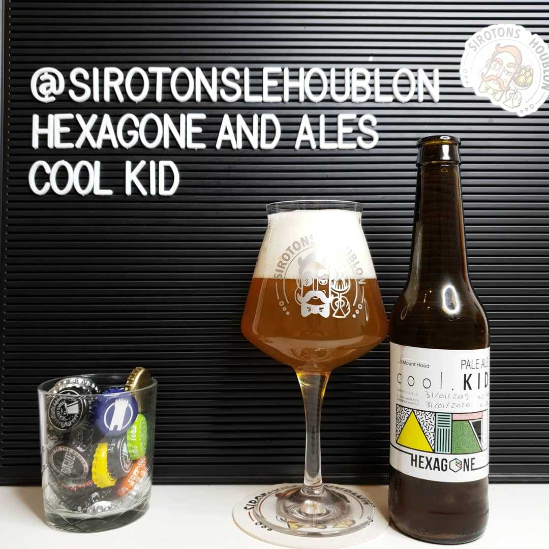 Bière Cool Kid - Brasserie Hexagone And Ales (France)
