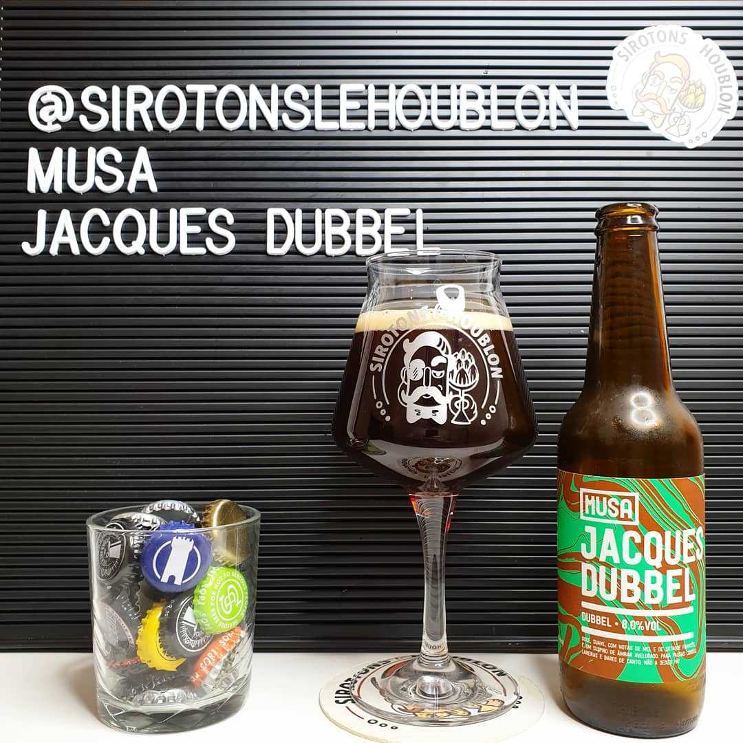 Jacques Dubbel - Brasserie Musa (Portugal)