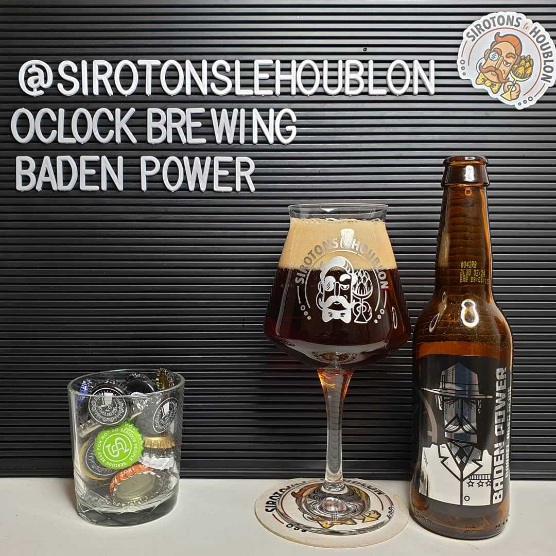 Bière Baden Power Rye Bourbon Barrel Aged - Brasserie O'Clock (France)