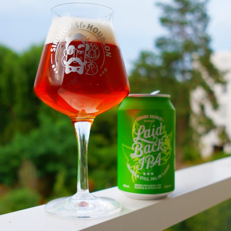 Laid Back IPA Marks & Spencer