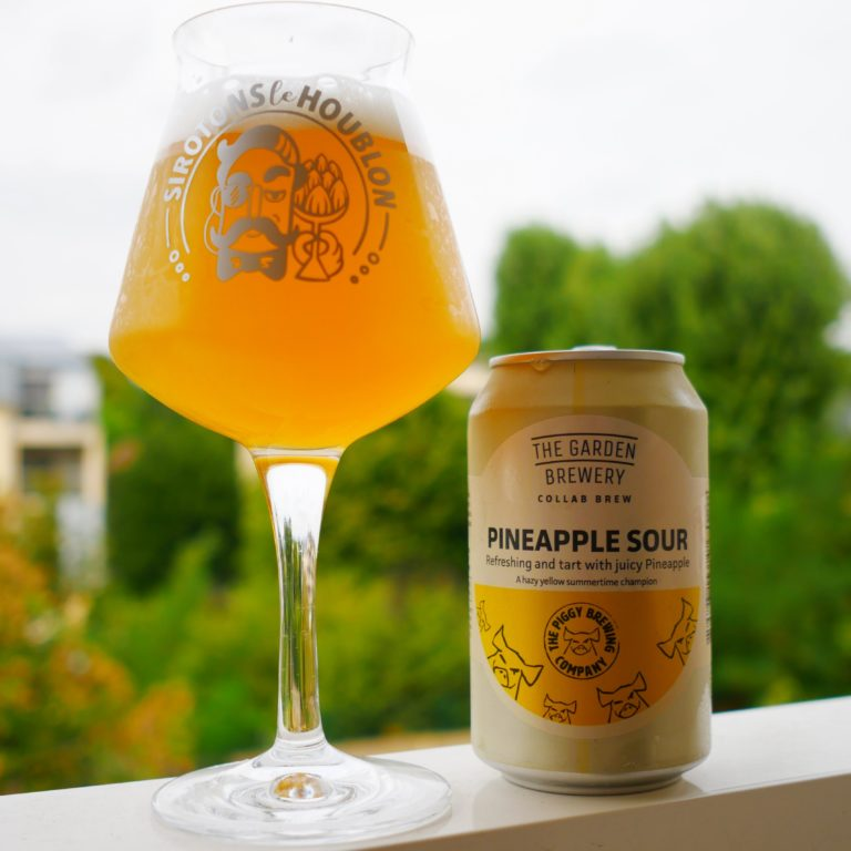Pineapple Sour The Garden Brewery & The Piggy Brewing Company